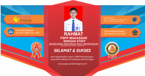 Alumni PSPP Penerbangan 17 September 2019